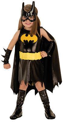 Mädchen Kleinkind Batgirl Superheld 6 Pc Kostüm 2T-4T RU885369T