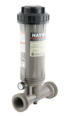 Hayward CL100 Reflex Swimming Pool In-Line Chemical Trichloro Chlorine Feeder