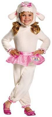 GIRLS DISNEY DOC MCSTUFFINS LAMBIE COSTUME DG69808 (Lambie Doc Mcstuffins Kostüme)