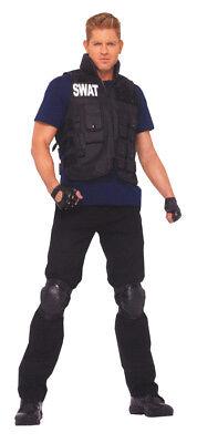 Swat Herren Erwachsene Kostüm Utility Weste & Shirt - Leg Avenue Swat Kostüme