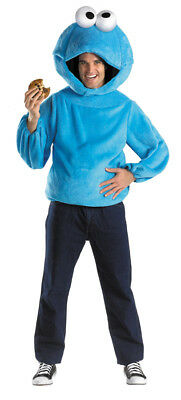 Cookie Monster Adult Costume Sesame Street Character Halloween Disguise