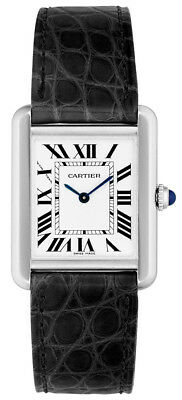 W5200005 | BRAND NEW AUTHENTIC CARTIER TANK SOLO QUARTZ WOMEN'S STEEL WATCH