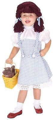 DOROTHY YARN BABIES COSTUME Rubies 882823 size 4-6 (Baby Girl Dorothy Costume)