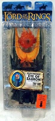 Lord Of The Rings Return Of The King Electronic Eye Of Sauron Toy Biz Lotr  Moc