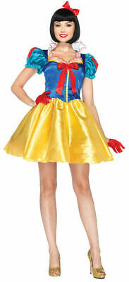 CLASSIC SNOW WHITE LEG AVE WOMENS COSTUME Halloween Cosplay Fancy Dress - Womens Snow White Kostüm