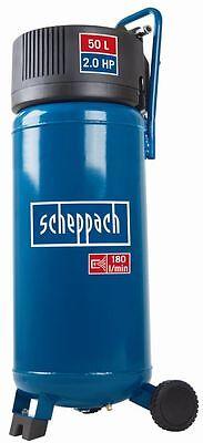 Scheppach HC50V Kompressor 50 l, 10 bar, 1,5 kW, ölfrei, senkrecht