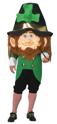 Parade Leprechaun Mascot Adult Costume Funny Comical St. Patrick's Day Irish - Leprechaun Mascot Costume