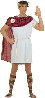 Greek Roman Spartacus Gladiator Caesar Men's Fancy Dress Costume S-L Inc. (Roman Spartacus Kostüm)