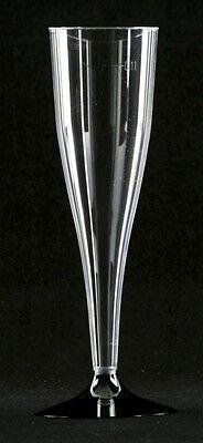 20 Einweg- Sektgläser 0,1l Sektflöten Plastik Sektglas
