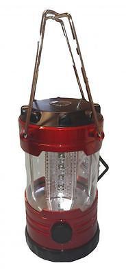 Lampada da campeggio con compasso a 12 LED 13x8cm