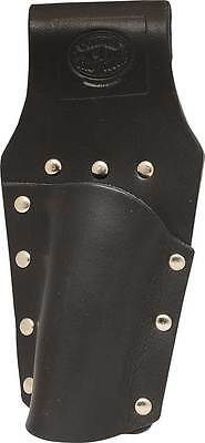 Black Premium Leather Level Holder Frog - Scaffolding Tools - Uk Made - Connell