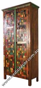RECLAIMED WOODEN ALMIRAH Pooraka Salisbury Area Preview