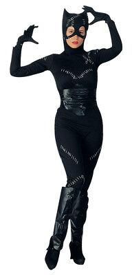 Catwoman Standard Adult Womens Costume Comics Movie Theme Sexy Hero Halloween