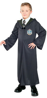 Jungen Kind Harry Potter Slytherin Robe Kostüm Outfit