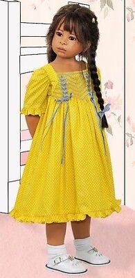 "2012 MIB 32"" Vinyl Heidi Plusczok Doll - Ellie #23 of only 120 Signed"