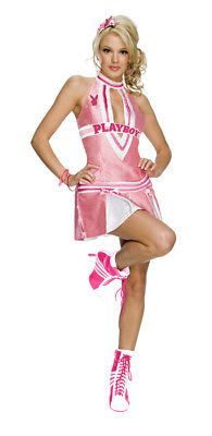 Playboy Cheerleader Adult Sexy Costume](Adult Cheerleading Costume)