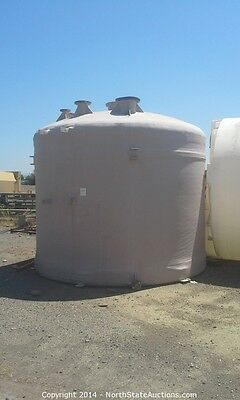 Environmental Engineering 5000 Gallon Fiberglass Water Storage Tank