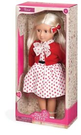 Brand new boxed Our generation retro Rose doll