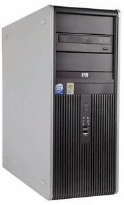 HP Compaq dc5800 dc7700 dc7900 Mini/Mid Tower Dual Core 1.86 to 3.00GHz 1-8GB DDR2 80GB-2TB HDD Windows XP-Vista