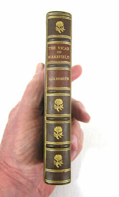 RIVIERE BINDING - FULL LEATHER - THE VICAR OF WAKEFIELD by OLIVER GOLDSMITH