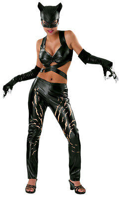 Catwoman Deluxe Sexy Adult Womens Costume Comics Movie - Comic Themen Kostüm