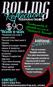 ROLLING REFLECTIONS - Quality & Affordable Car Care Maitland Maitland Area Preview