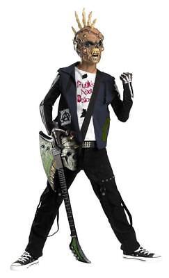 Rot N' Rebels: Punk Creep Skeleton Rocker Child Costume X-Large 14-16
