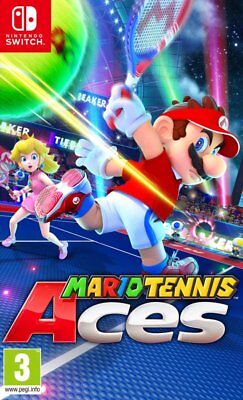 Mario Tennis Aces (Switch)  BRAND NEW AND SEALED - IN STOCK - QUICK DISPATCH