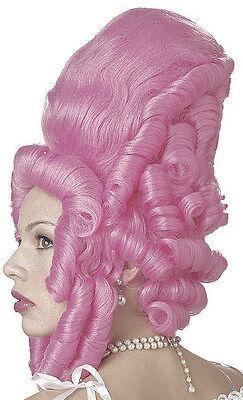 Wig Marie Antoinette ( Marie Antoinette Pink French Adult Costume)
