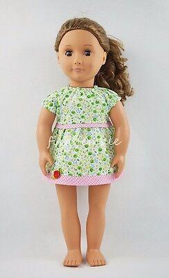 Green Dresses For Little Girls (Green Little Rose Party Dress Miniskirt Fit For 18'' American Girl Doll)
