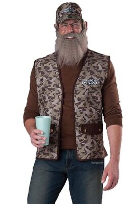 Duck Dynasty Uncle Si Adult Size Costume*BNIP*incharacter*FREE - Halloween Costumes Duck Dynasty