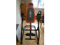 Klarfit Relax Zone Pro Hang-Up Inversion Table Spinal 150kg Unmarked