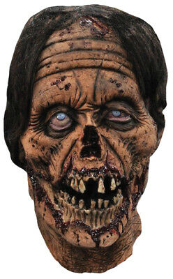Sir Ghastly Latex Adult Mask Costume Zombie Skull Oldie Cosplay Party Halloween](Halloween Oldies Party)