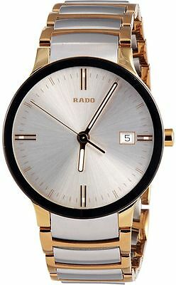 Rado Centrix Silver Dial Two-Tone Stainless Steel Men's Watch R30931103