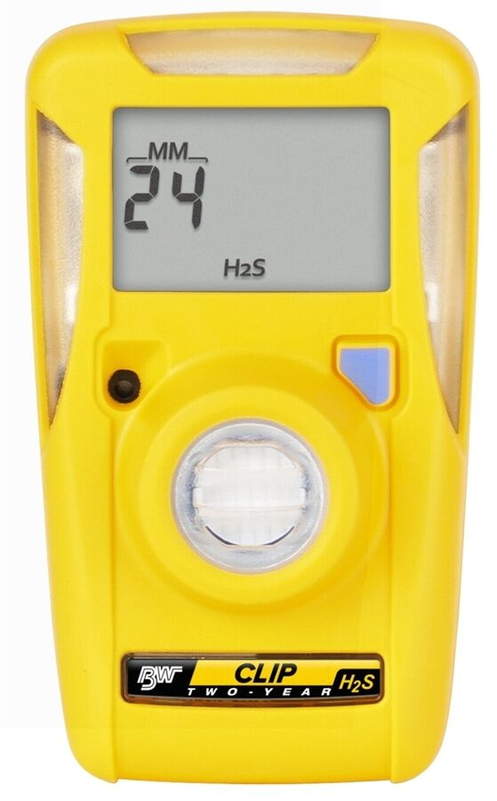 BW Technologies- BWC2-H  GasAlertClip Gas Monitor Extreme Hydrogen Sulfide (H2S) Business & Industrial