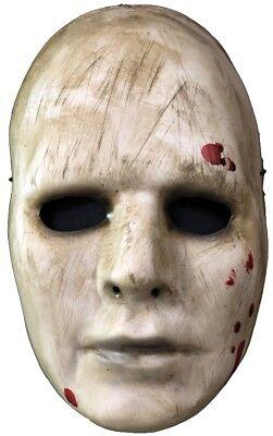 ADULT MANIAC VACUFORM COSTUME FACE MASK CREEPY SCARY FREEK PURGER PSYCHOPATH (Creepy Face Mask)