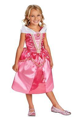 Filles Princesse Disney Aurore Belle au Bois Dormant Brillant Costume (Kostüm Princesse Aurore)
