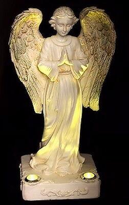 LED Solar Light Angel Statue Home Garden ...