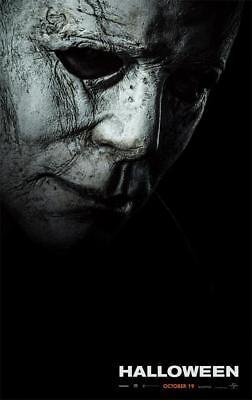 2018 Terror Film Halloween Returns Movie Art Poster](Filme Terror Halloween)