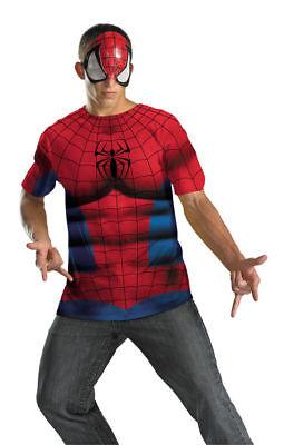 Amazing Spider-Man Erwachsene Kostüm Marvel Comics Neue Größe 42-46 Disguise (Erwachsene Größe Spiderman Kostüme)
