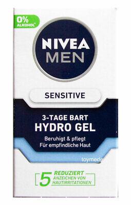 NIVEA for MEN sensitive 3-Tage Bart Hydro Gel Anti-Juckreiz 50ml Bartpflege