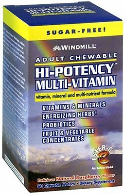 Adult Multi Vitamin - Windmill Hi-Potency Multi-Vitamin Tablets Adult Chewabl