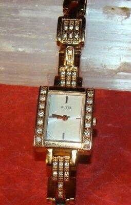 Guess women's watch model U0136L3 Bronze tone color, water resistant