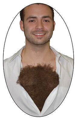 70'S MACHO MAN HAIRY CHEST WIG DISCO COSTUME NEW BB470 - Hairy Chest Costume