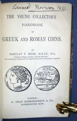 Barclay V Head / YOUNG COLLECTOR'S HANDBOOK Of GREEK And ROMAN COINS