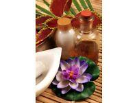 Asian Oriental Acupoint massage treatment