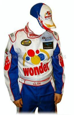 Ricky Bobby NASCAR Jumpsuit Cap Full Costume TALLADEGA NIGHTS [Express Shipping] - Ricky Bobby Jumpsuit