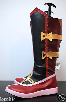 League of Legends Foxfire Ahri Boots Cosplay SHOES Custom Made <lotahk>