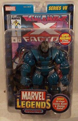 Marvel Legends X-Men Apocalypse Super Poseable Series 7 VII With Comic (MISP)