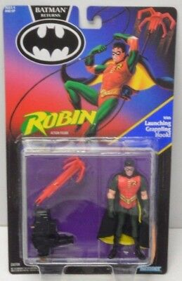 Batman Returns Movie Robin With Launching Grappling Hook Action Figure Kenner - Robin Grappling Hook